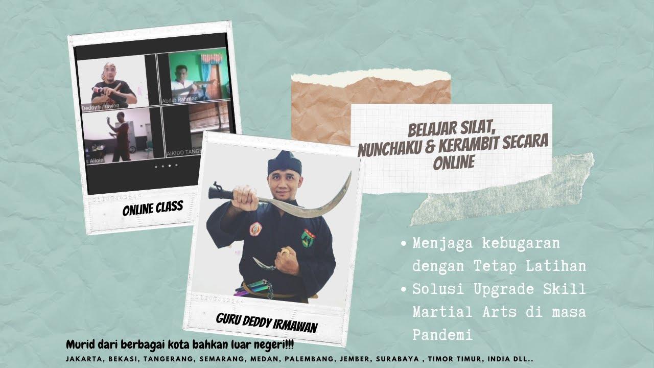 Belajar Silat Belajar Nunchaku Belajar Kerambit Secara Online Bersama Guru Deddy Irmawan