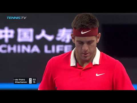 Highlights: Del Potro Reaches QF; Lajovic Upsets Dimitrov Beijing 2018