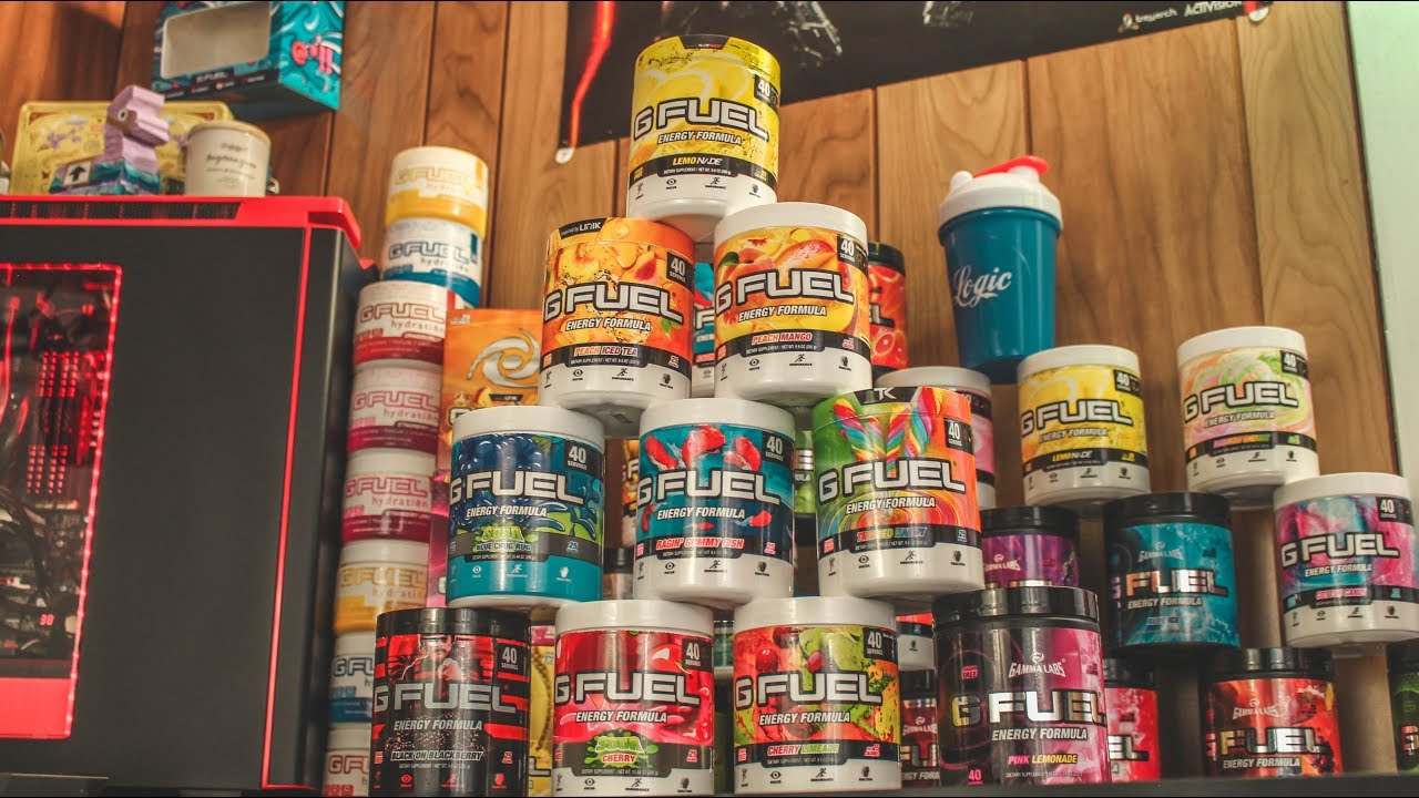 my top 10 favorite gamma labs g fuel flavors g fuel giveaway the best flavors to buy youtube. Black Bedroom Furniture Sets. Home Design Ideas