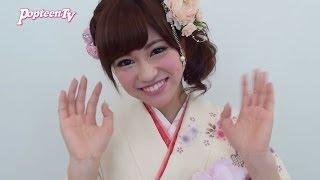 2014年あけおめ!ってことでれいぴょんこと大澤玲美チャンからメッセー...