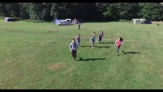 Camping at Broadstone Park Forest of Dean Wales