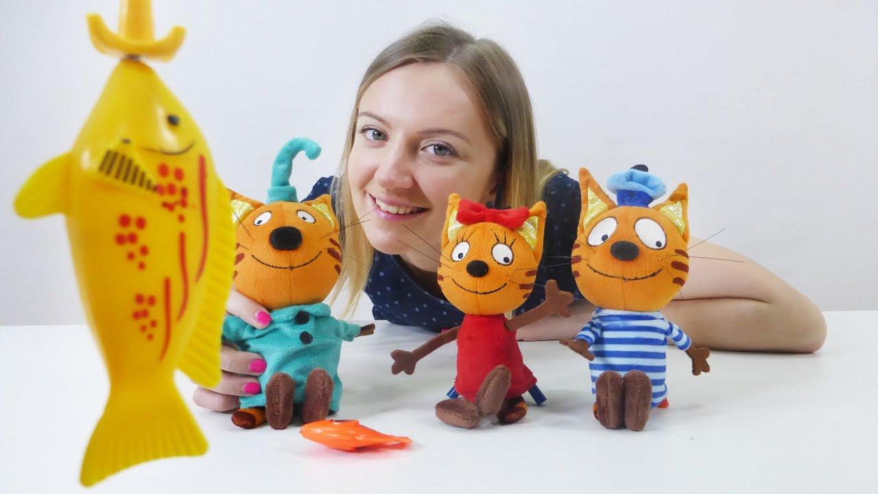 Видео игрушки три кота