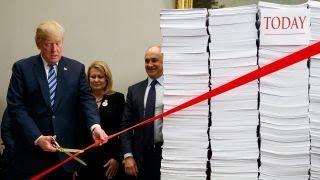 Trump touts the 'most far-reaching' regulatory rollback thumbnail
