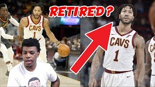 DERRICK ROSE IS RETIRING FROM THE NBA !! CURRENTLY LEAVING THE CAVS !