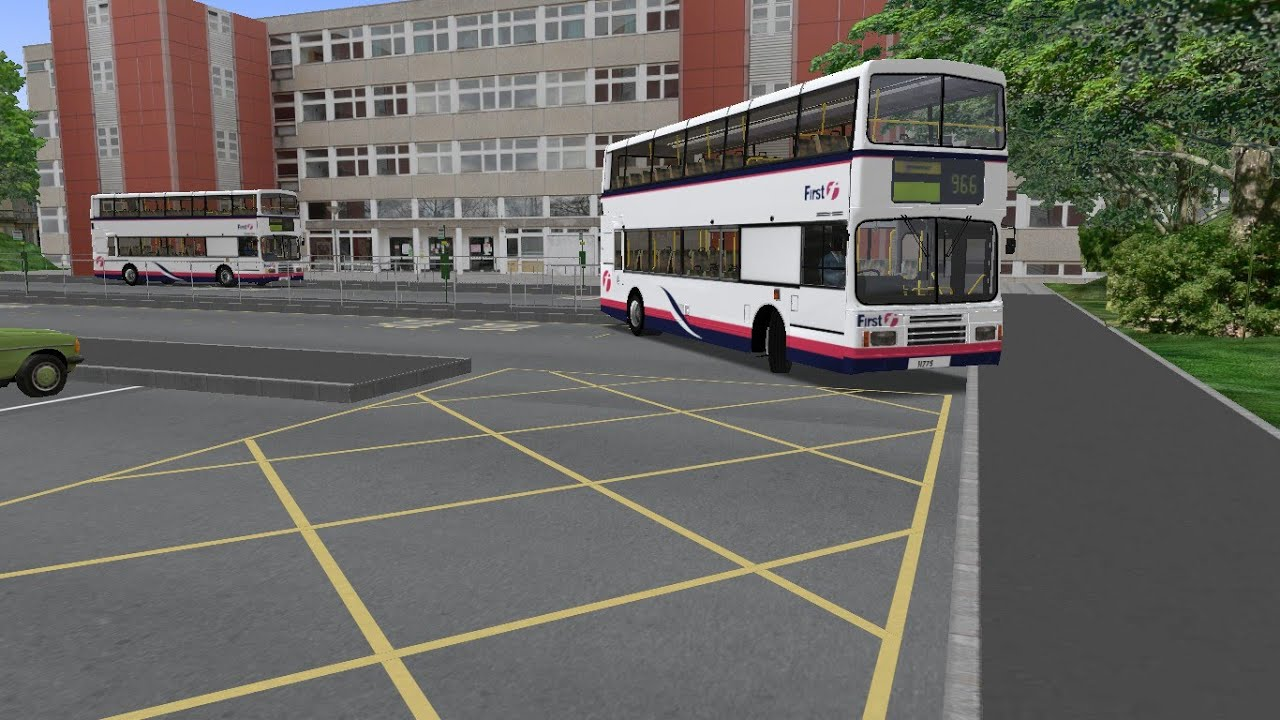 OMSI 2 Humber Buses Route 966 Volvo Olympian 10 4M Uk First Barbie - Музыка  для Машины