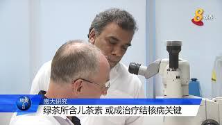 南大研究:绿茶除保健外 还可治疗肺结核