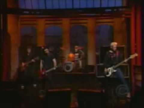 Green Day - Waiting Live @ Letterman