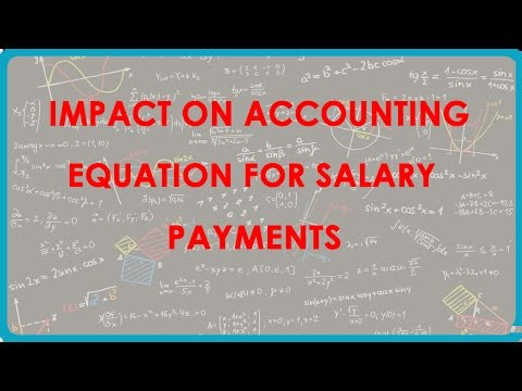 1120. Impact on Accounting Equation for Salary payments