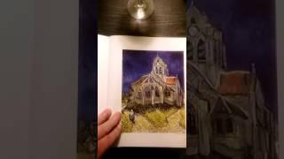 Van Gogh at Night- Church at Auvers