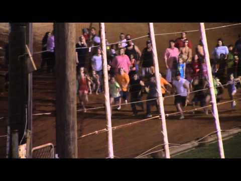Winder Barrow Speedway Kids Foot Race 8/29/15