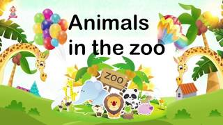 Toddler Learning video| Animals in the zoo | kids books read aloud | 宝宝学英语 | 儿童学英语