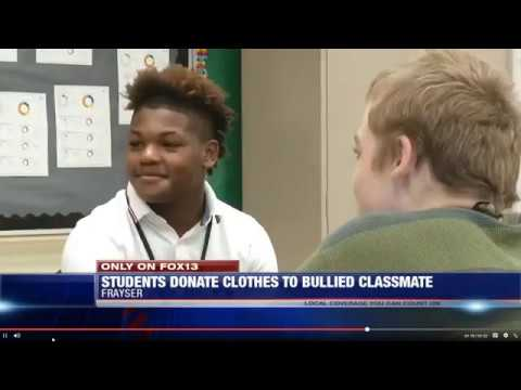Carmen - Students Help Kid For Being Bullied For Wearing The Same Clothes To School