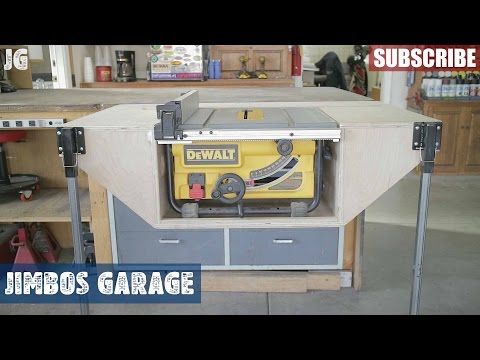 Table Saw 'Table' Build - Jimbos Garage
