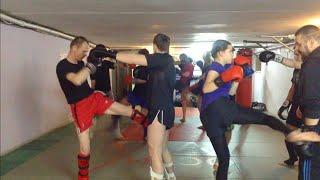 Кикбоксинг. Тренировка новичка | Мария Жаркова(В сегодняшнем видео я