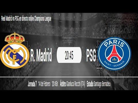 Psg Vs Real Madrid Total