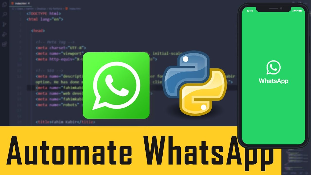 Automate WhatsApp message with Python