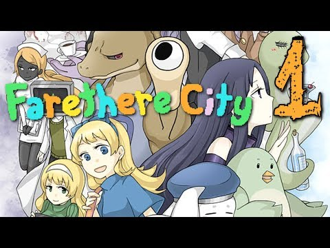 Farethere City - A General Store in Surreal Land, (RPG Maker) Manly Let's Play [ 1 ]