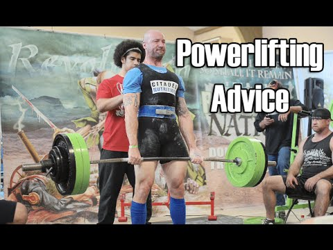 Tips for Your First Powerlifting Competition