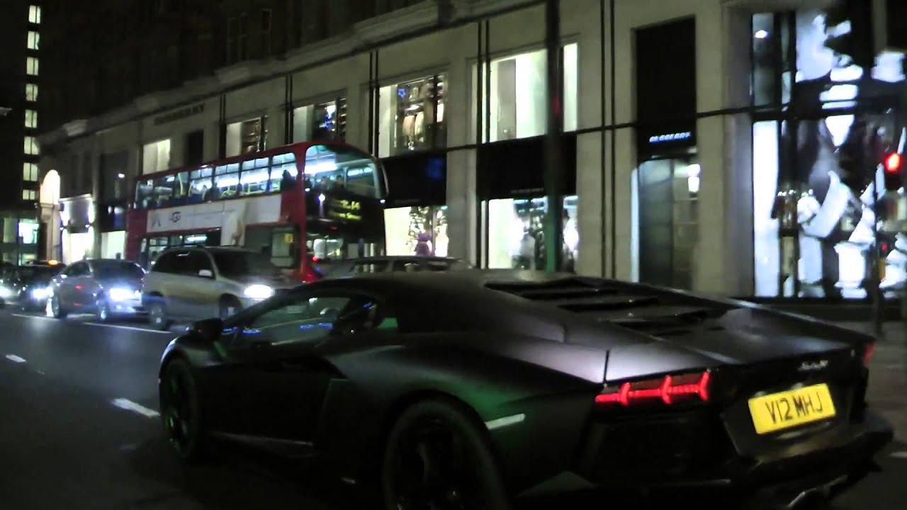Lamborghini Aventador Crazy Sounds Quot Dark Night