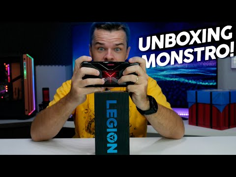 LENOVO LEGION PHONE: Unboxing, primeiras impressões e preço no Brasil 🇧🇷