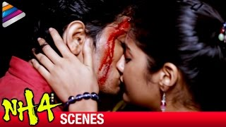 Siddharth - Ashrita Shetty Love Scene | Climax | NH4 Telugu Movie Scenes | Udhayam NH4