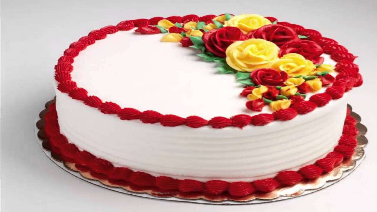 Cake Decorations And Ideas : Cake Decorating Ideas - Cake Decorating with Buttercream - YouTube