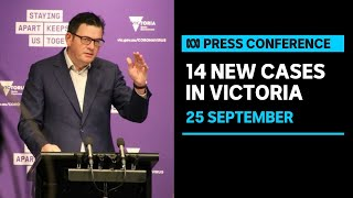 Victoria records 14 new coronavirus cases and 8 deaths  | ABC News