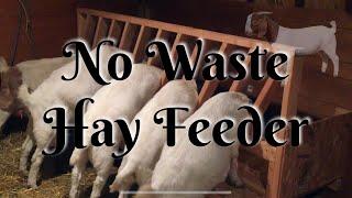 No Hay Waste Goat Feeder