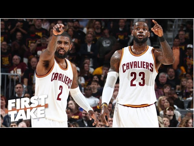 Kyrie Irving is using LeBron James as a prop - Max Kellerman  | First Take