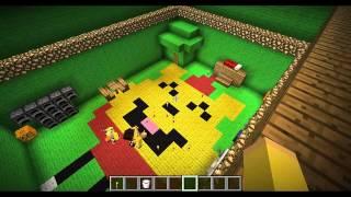 minecraft แข่งสร้างบ้านแฟนตาซี 1#