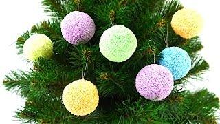 Новогодние сюрпризы из шарикового пластилина. Сюрпризы на елке. Игрушкин ТВ