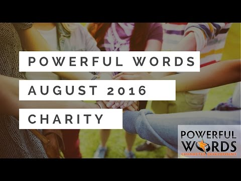 Dr. Robyn Silverman introduces the August 2016 Powerful Word of ...