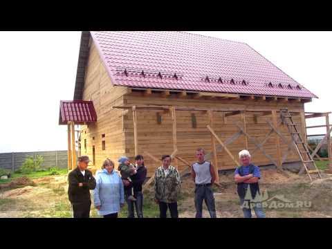Отзыв - дом из бруса, коттеджный поселок Москва река