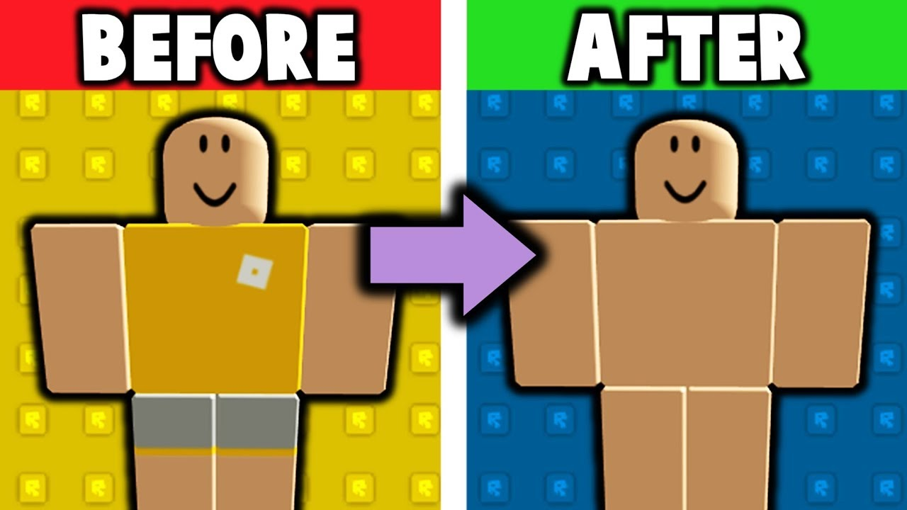 How To Get Whole Skin Tone Avatars Roblox Glitch Youtube