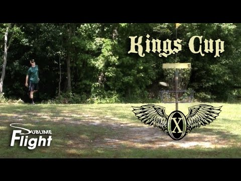 King's Cup X Lead Card: Final Round 2015 Disc Golf Tournament