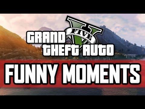 GTA 5 Funny Moments #25 with KSI, Zerkaa,...