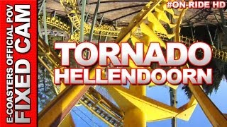 Tornado - Avonturen Park Hellendoorn | On-Ride (ECam HD)