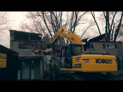 House Demolition Project by Dig-It Excavating in Cassopolis MI