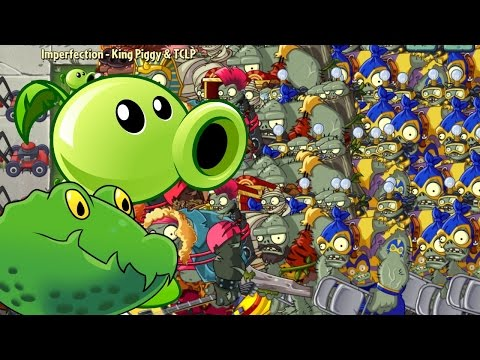 Plants vs Zombies 2 Epic Hack - Gargantuar Mania vs Guacopeashooter