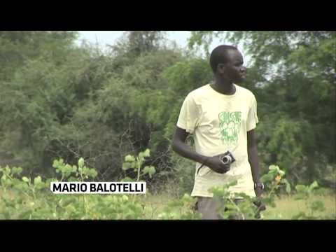 Balotelli gives money for a school in Sudan