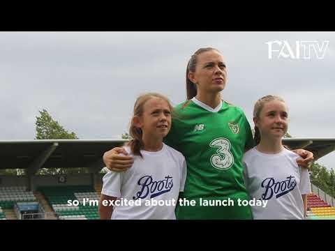 Boots kick-off three-year partnership with Republic of Ireland WNT