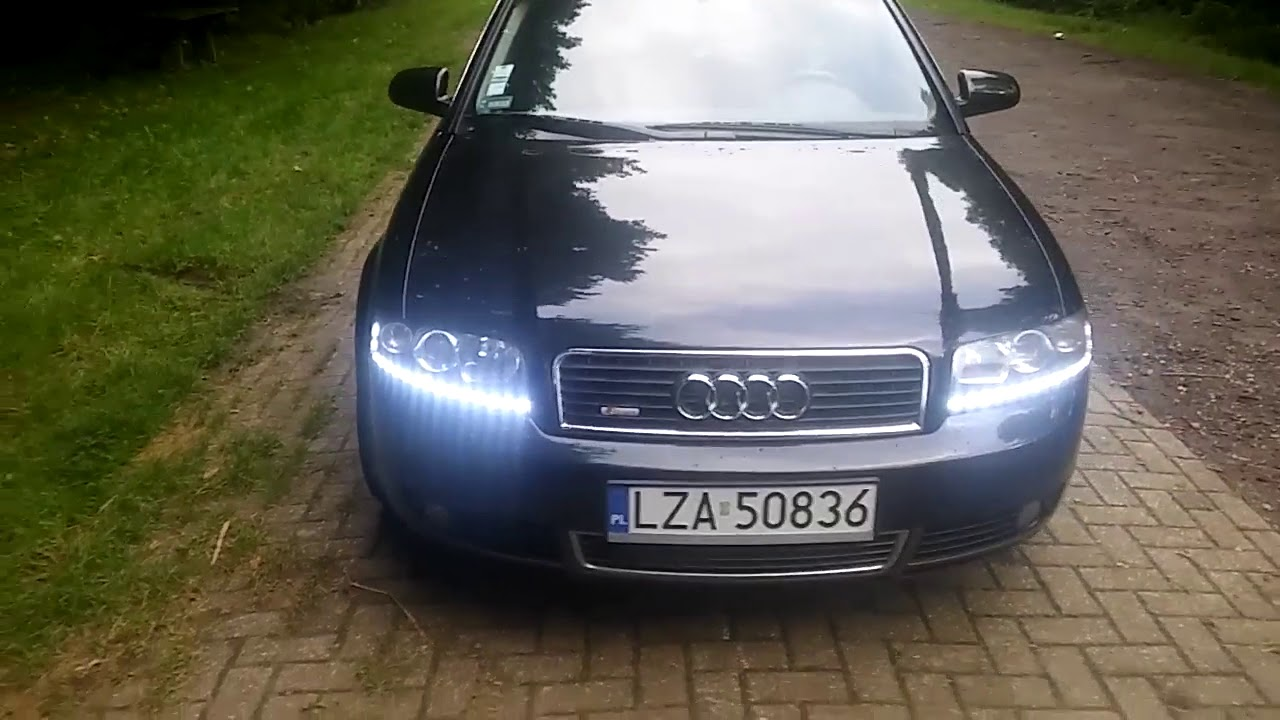 Audi A4 B6 Swiatła Led Youtube