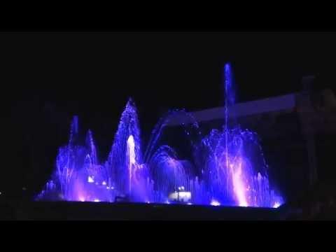 JET OF WATER,PORTOROZ SLOVENIA