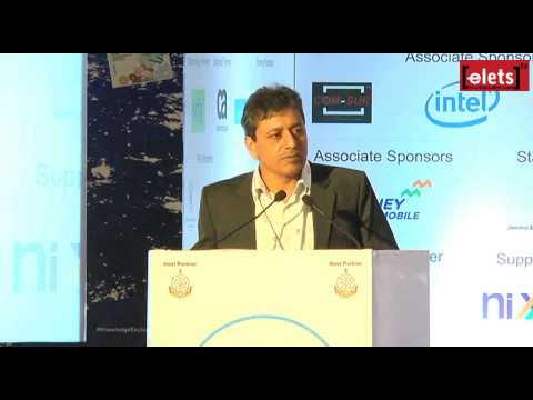 elets KE Goa'15 - Role of Software Technology Parks - Omkar Rai, Director General, STPI