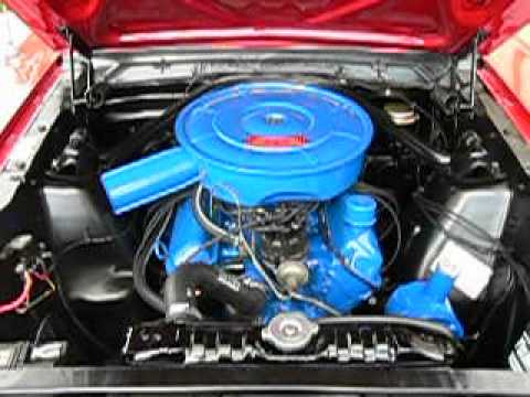 Ford Mustang 1966 289 Engine Sound Youtube