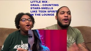 Little Mix   Holy Grail Counting Stars Smells Like Teen Spirit-REACTION VIDEO