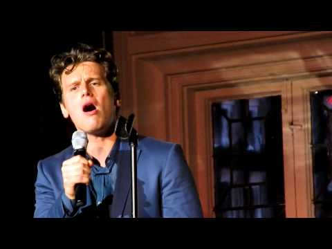 "Jonathan Groff Singing ""Thank You for the Music"" by ABBA Live at The Cabaret"