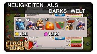 NEUIGKEITEN AUS DARKS WELT #396 || CLASH OF CLANS | Let's Play CoC | Deutsch | German