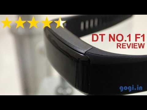 DT No. 1 F1 Fitness Band Review (in Hindi), Water Proof Test And Giveaway