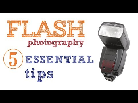Flash photography: 5 essential tips - DSLR tutorial video